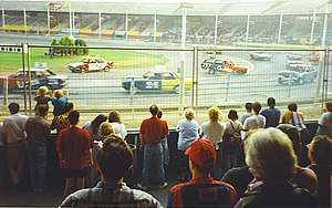 Wimbledon Stadium - A Stock Car meeting at Wimbledon Stadium