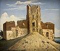 Wincenty Dmochowski Widok zamku w Trokach 1854.jpg