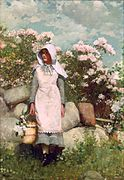 Winslow Homer - Girl and Laurel.jpg