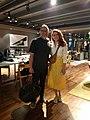 With Jimmy Wales, Wikimania'19.jpg