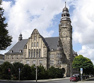 Wittenberge - The Rathaus building