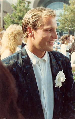 Woody Harrelson - Harrelson on the red carpet at the 40th Annual Primetime Emmy Awards, August 28, 1988