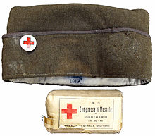 World War I Italy Paramedic Hat 1917.jpg