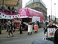 Worshipful Company of Broderers 450th anniversary float (Routemaster bus RML2398, JJD 398D) 2011 Lord Mayors Show.jpg