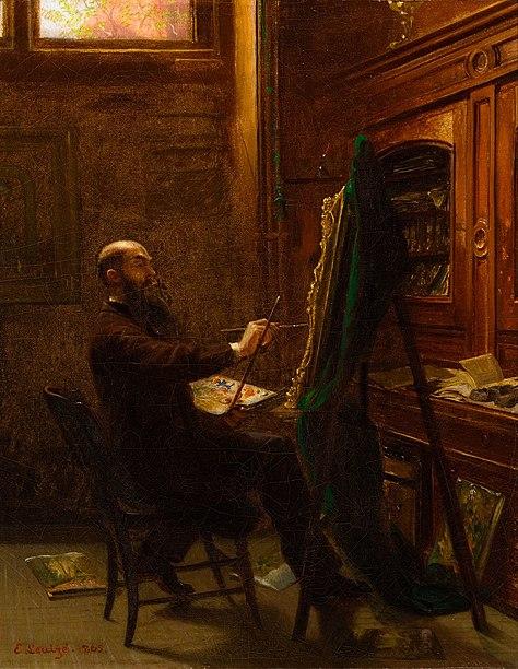 File:Worthington Whittredge in His Tenth Street Studio.jpeg