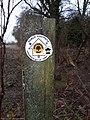 Wychwood Way footpath marker.jpg