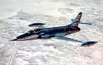 Lockheed XF-90 - XF-90 in flight
