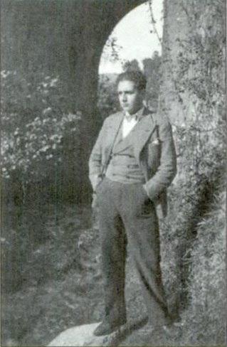 Xosé María en 1932.