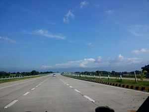 Yamuna Expressway - Yamuna Expressway connects Delhi and Agra. The tollway opened in 2012.