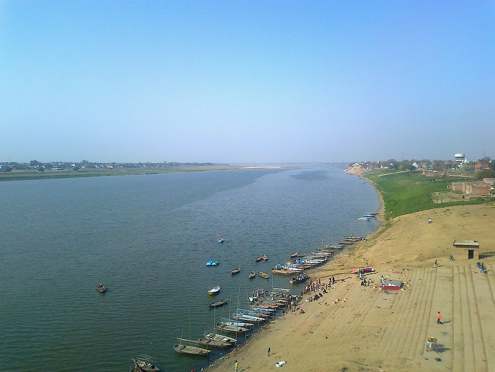 Yamuna River Near Allahabad