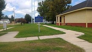 Moorhead, Mississippi - Mississippi Blues Trail marker in downtown Moorhead