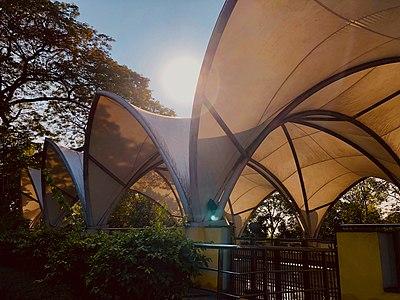 Yoga centre in VMRDA city Central Park 1 (February 2019).jpg