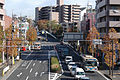 Yokohamamunicipalbus No.104 nearkohokuwardoffice 2008-11-23.jpg