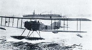 Imperial Japanese Navy Air Service - Japanese floatplane of World War I.