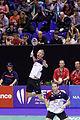 Yonex IFB 2013 - Eightfinal - Łukasz Moreń-Wojciech Szkudlarczyk — Mathias Boe-Carsten Mogensen 06.jpg