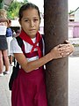 Young Girl in School Uniform - Near Santiago de Cuba - Cuba.jpg