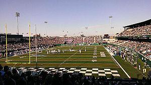 Yulman Stadium - Image: Yulman Stadium Homecoming