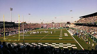 Yulman Stadium - Image: Yulman Stadium Homecoming