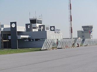 Osijek Airport - Image: ZL Osijek Klisa