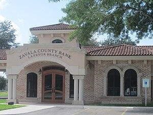 La Pryor, Texas - Zavala County Bank in La Pryor, Texas