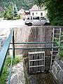 Zbraslav, Na plácku, Záběhlický potok, vstup do trouby.jpg