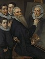 Zelfportret van de schilder met zijn gezin Rijksmuseum SK-A-1460.jpg
