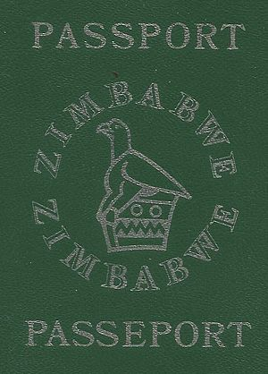 Zimbabwean passport - Zimbabwe Passport Cover (1st version) (1980 - 1982)