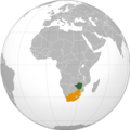 Zimbabwe South Africa Locator (orthographic projection).png