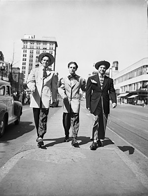 Zoot Suit Riots - Zoot Suiters On Parade