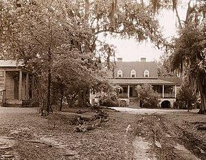 "Eutawville, South Carolina - ""The Eutaw,"" William Henry Sinkler house, Eutawville vicinity, by Frances Benjamin Johnston, 1938"