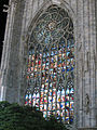 """ 12 - ITALY - Stained glass windows - Duomo di Milano.JPG"