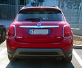 """ 15 - ITALY - Fiat 500X off road Arese - red SUV cool Fashion car 05.jpg"