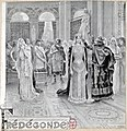 'Frédégonde', frontispiece for the vocal score, by Paul Steck, 1895 – Gallica 2011 (adjusted).jpg