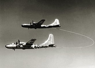Lucky Lady II - Lucky Lady II (46-0010) being refuelled by a KB-29M