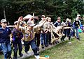 'Wolves and Tigers and Bears – Oh My!' – Scouts conduct mass 'promotion' at local camp 140603-A-XX000-001.jpg