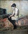 (Albi) Etude de nu. Femme assise sur un divan - Toulouse-Lautrec - 1882 - MTL.78.jpg