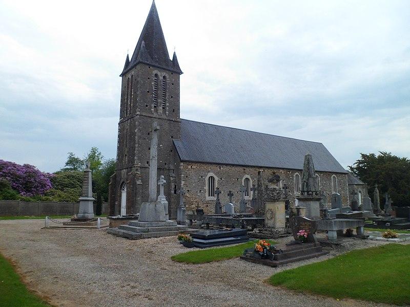 Église Saint-Jean de fr:Lamberville (Manche)