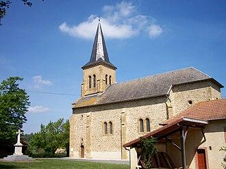 Antin, Hautes-Pyrénées - The church of Antin