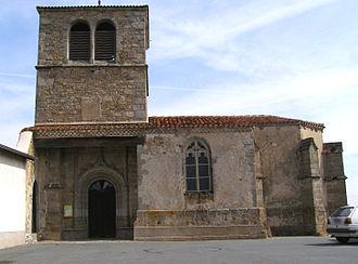 Ailleux - Image: Église de Ailleux Loire (3)