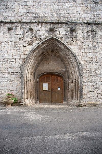 Église de Vuillafans - porte