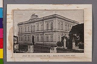 État de Rio Grande do Sul - École du Génie à Porto Alegre