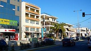 Pallini Place in Greece