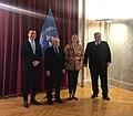 Συνάντηση ΥΠΕΞ, Ν. Κοτζιά, με τον ομόλογό του, Ν. Dimitrov (Βιέννη, 30.3.2018) (26238933097).jpg