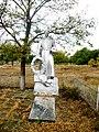 Братська могила радянських воїнів. Поховано 4 чол., смт. Комишуваха, на ст. Фісаки, за 80 м від будівлі залізнич. вокзалу, Запорізька.jpg