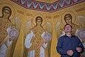 Во время росписи собора Спаса Преображения.jpg