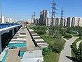 Гаражи у Братеевского моста, Парк 850-летия Москвы - panoramio.jpg
