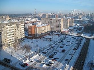 Udmurtia - Image: Город Ижевск.Ул.7 я Подлесная
