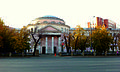 Здание городской больницы. Здесь работал хирург П.М. Тарасов. Улица Воровского, 16, Челябинск.jpg