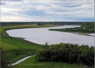 Tyumensky District - The Tura River near the selo of Kamenka in Tyumensky District