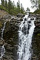 Красивый водопад с восточного берега реки Кунийок в долине рядом с автомобильным перекрёстком.jpg